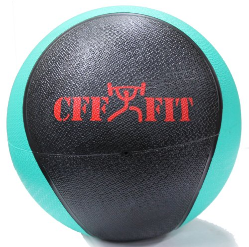 CFF Deluxe Rubber Medicine Ball, 6-Pound