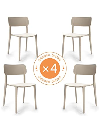 Suhu Stuhl Retro 4er Set Esszimmerstühle Esszimmer Designer Sessel ...