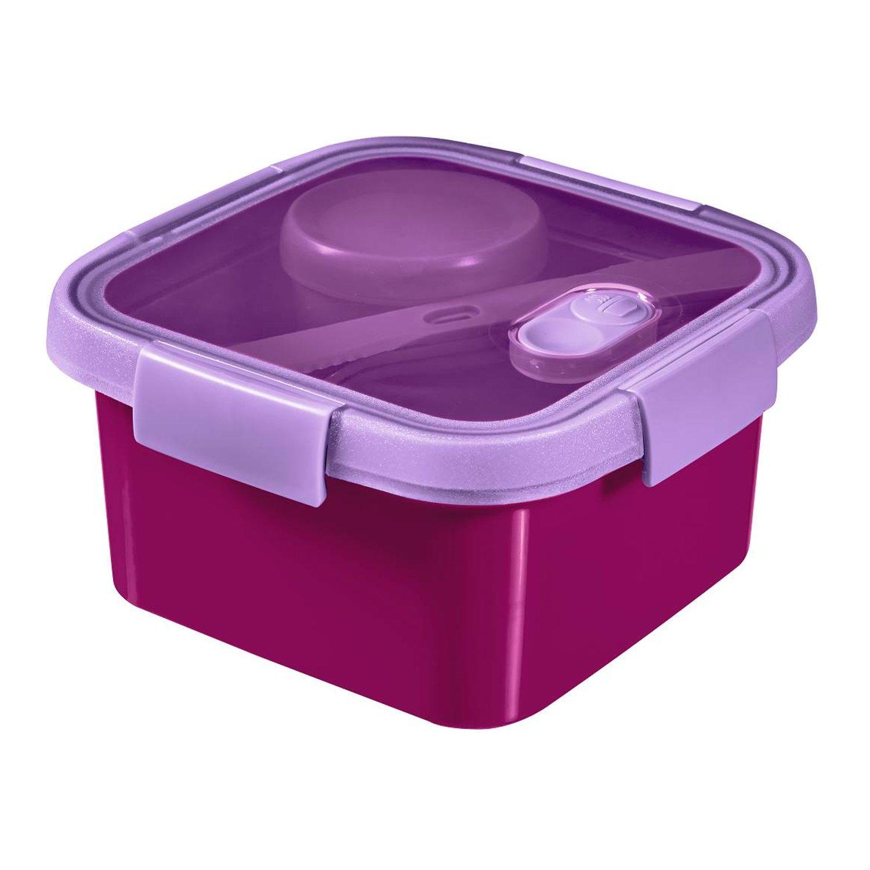 Curver To Go Lunch Kit 1,1L recipiente cuadrado para llevar comida ...