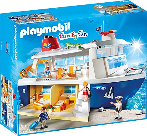 PLAYMOBIL 6978 - Kreuzfahrtschiff, Spielzeugfigur
