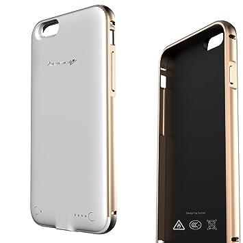 Funda Batería iphone 6 / 6s,LUOOV Power 2400mAh Carcasa Batería Cargador Carcasa Protectora Para iPhone 6, iPhone 6S con 64 GB (4,7