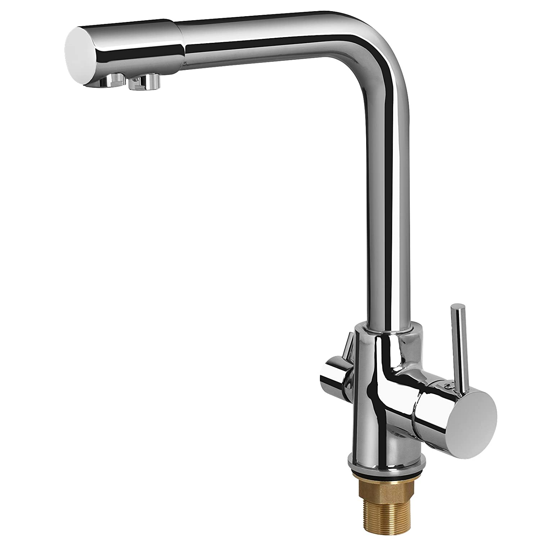 Küchen Armatur 3 Weg Wasserhahn Spültischarmatur frei schwenkbar