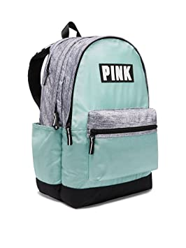 Mochila PINK by Victorias Secret color verde claro