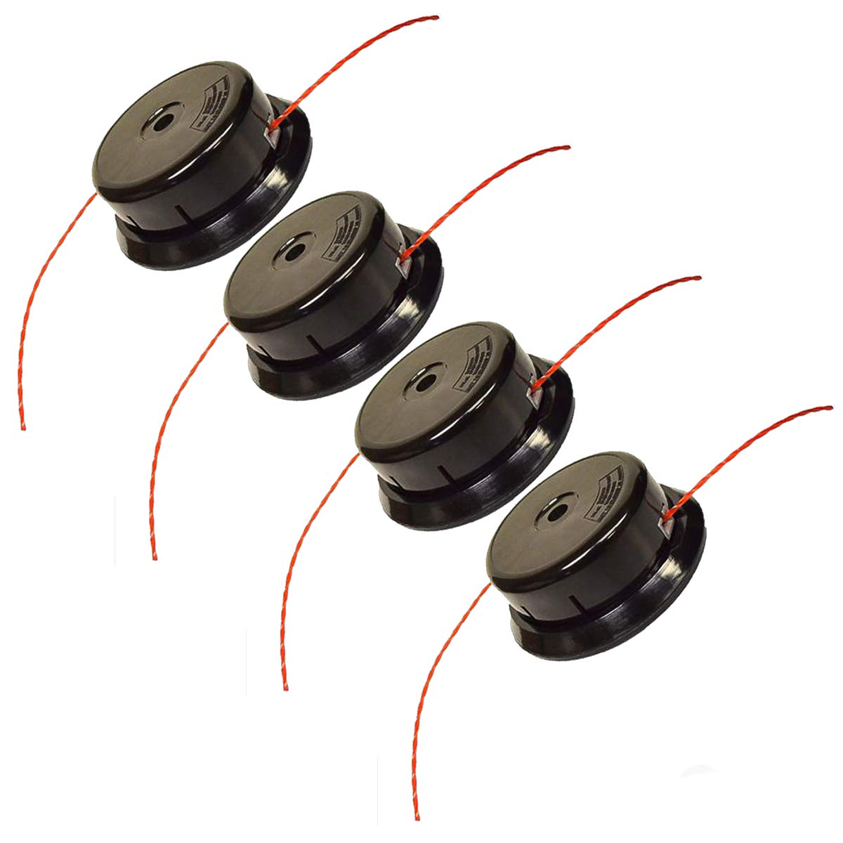 4PK Replacement Trimmer Head for Redmax PT104 PT 104 Plus BCZ BC BCX TR EX EXZ 511010601 by Replace Redmax