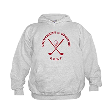 5f81fd4cbe9 CafePress - University of Houston Golf - Kids Hooded Sweatshirt, Classic  Hoodie Ash Gray
