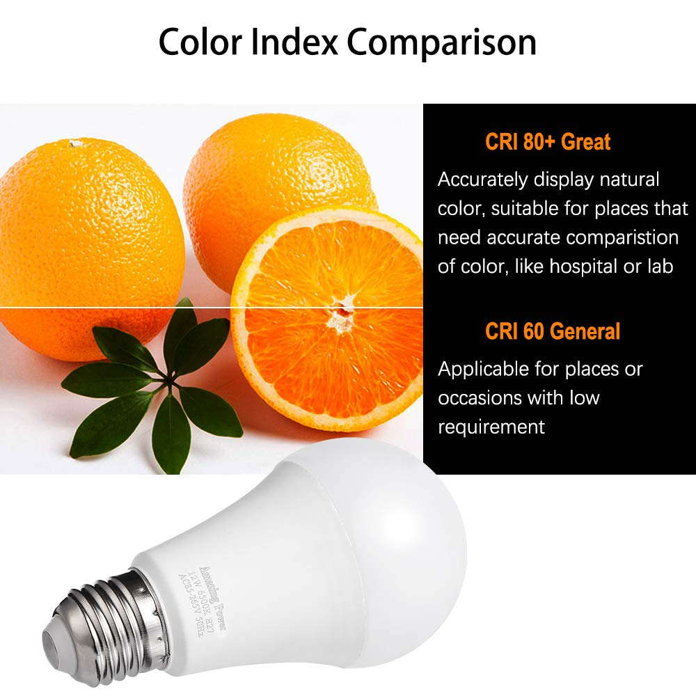 Amazon.com: 100W Equivalent LED Bulbs A19, AMAZING POWER ...
