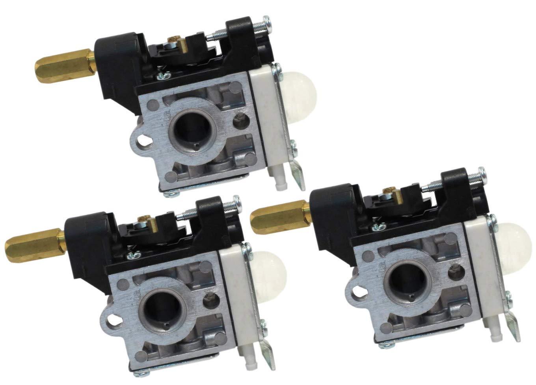 3 Pack Genuine Echo A021001200 / A021001202 Trimmer Carburetor RB-K84