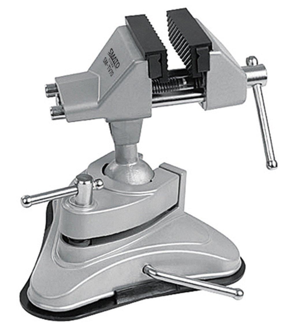 Aluminum Swivel Vise Mini 70MM 360 °Rotatable Hand Working Hobby Table Bench Vice