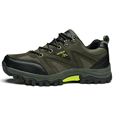 Outdoor Chaussures Hommes Mesh Respirent Antidérapant Chaussures d' Escalade Pied Randonnée