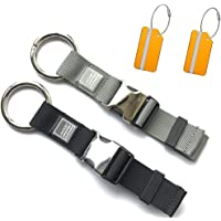 Luggage Straps Add A Bag Jacket Gripper Holder Heavy Duty Carry-on Baggage Suitcase Belts with Luggage Tags Travel Accessories 2 Pack