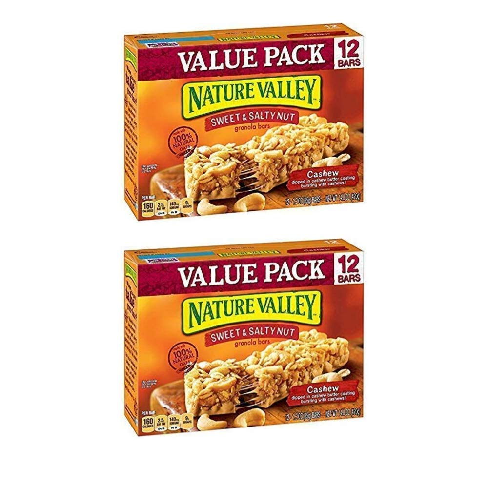 Nature Valley – Sweet & Salty Tuerca Granola Bars – Almendra ...