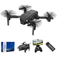 infinitoo RC Drone with 4K HD Camera WiFi FPV RC Quadcopter with Trajectory Flight,3D Flips,Altitude Hold,Headless Mode…