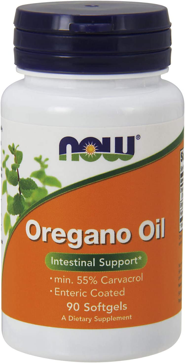 NOW Supplements, Oregano Oil with Ginger and Fennel Oil, Enteric Coated, 90 Softgels: Health & Personal Care