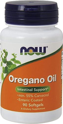 NOW Foods Oregano Oil Enteric, 90 Softgels