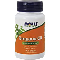 NOW Supplements, Oregano Oil with Ginger and Fennel Oil, Enteric Coated, 90 Softgels