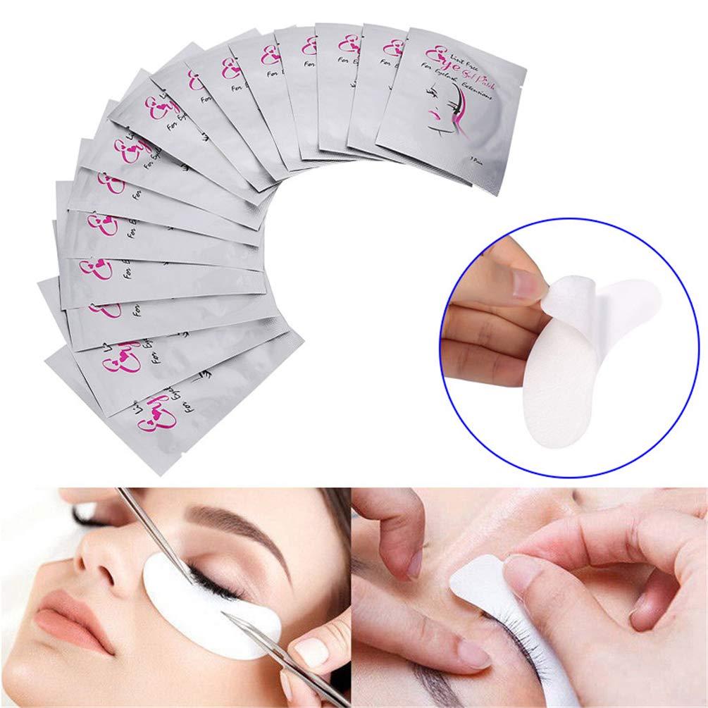Starall Eye Gel Pads Eyelash Lash Extension Under Eye Gel Pads Mask Lint Free Eye Patches
