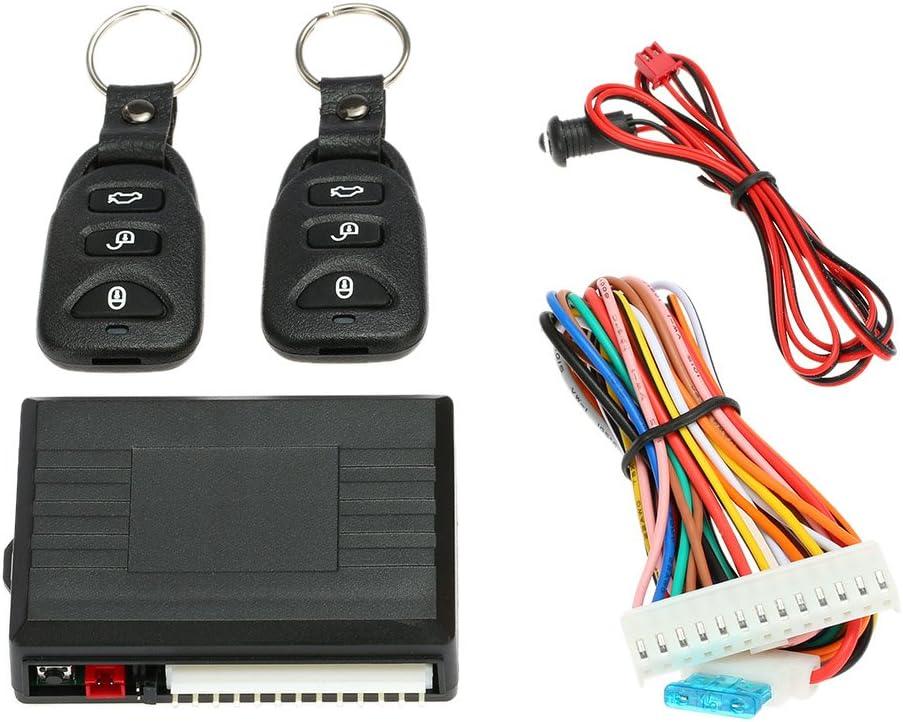 KKmoon - Mando a distancia para cerradura central del automóvil - Sistema de apertura sin llave Kit 6
