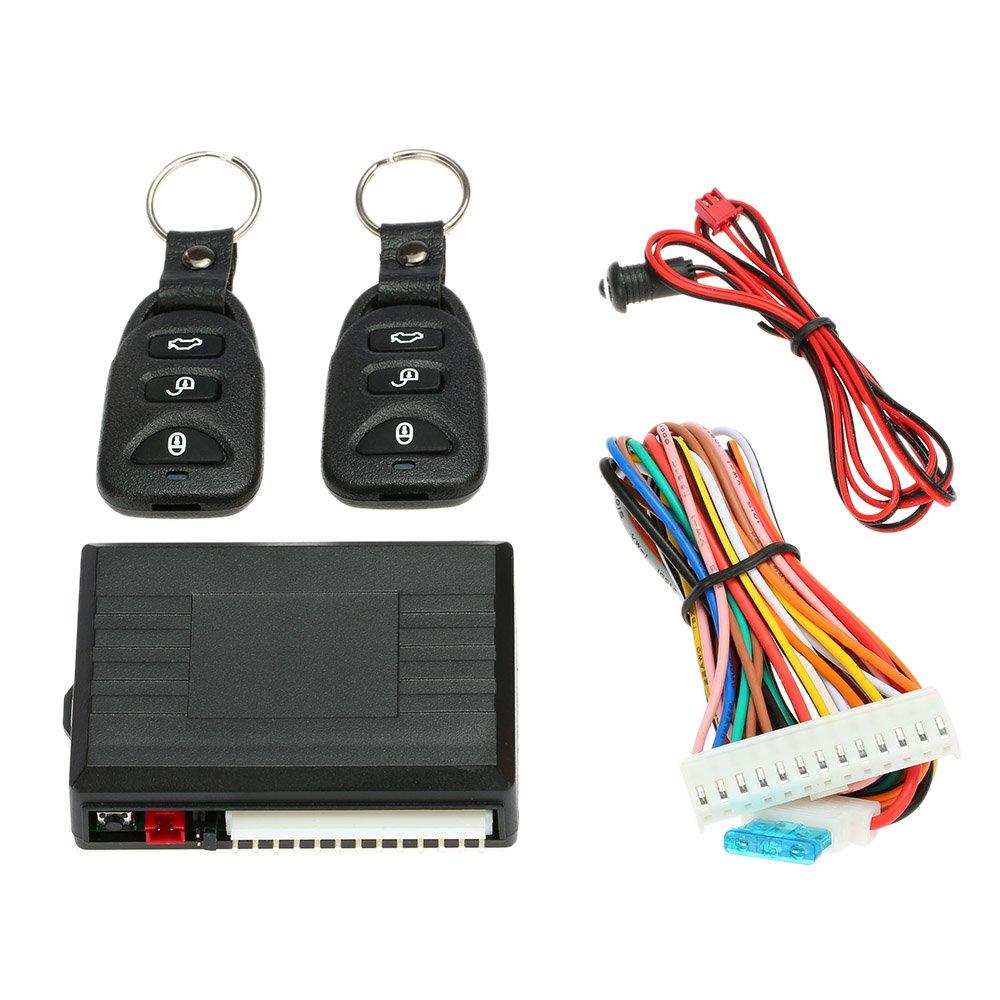 kkmoon Car Remote Central Lock Keyless Entry System Closure Kit 4