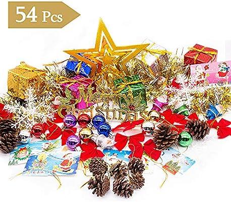 Amazon Com Mmtx Christmas Tree Decoration Full Set Traditional