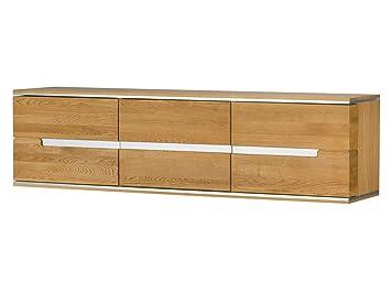 Mediolan Holz Eiche Massiv Holz Wand Montiert 3 Tur Schrank Kommode