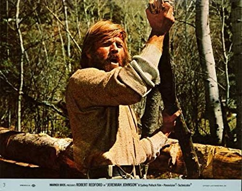 Jeremiah Johnson Notice Movie (1972) Style C 11 x 14 Inches - 28cm x 36cm (Robert Redford)(Will Geer)(Stefan Gierasch)(Allyn Ann McLerie)(Joaquin Martinez)(Charles Tyner)(Paul Benedict)