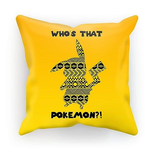 Pokemon cojín manta almohada ante sintético - Who s que ...