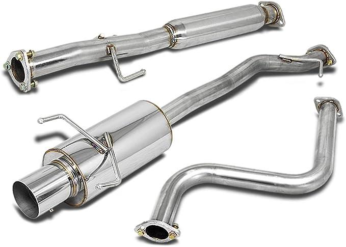 Exhaust Muffler Assembly-Quiet-Flow SS Muffler Assembly fits 90-93 Honda Accord