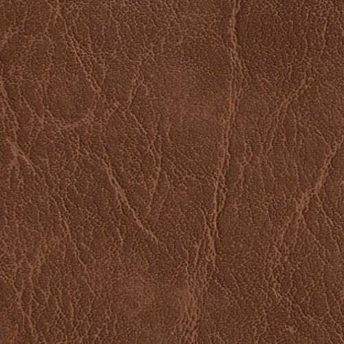 - G613 Pecan Distressed Outdoor Indoor Faux Leather Upholstery Vinyl by The Yard