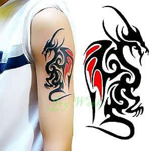 Handaxian 3 Piezas Tatuaje Impermeable Letonia símbolo Tatuaje ...
