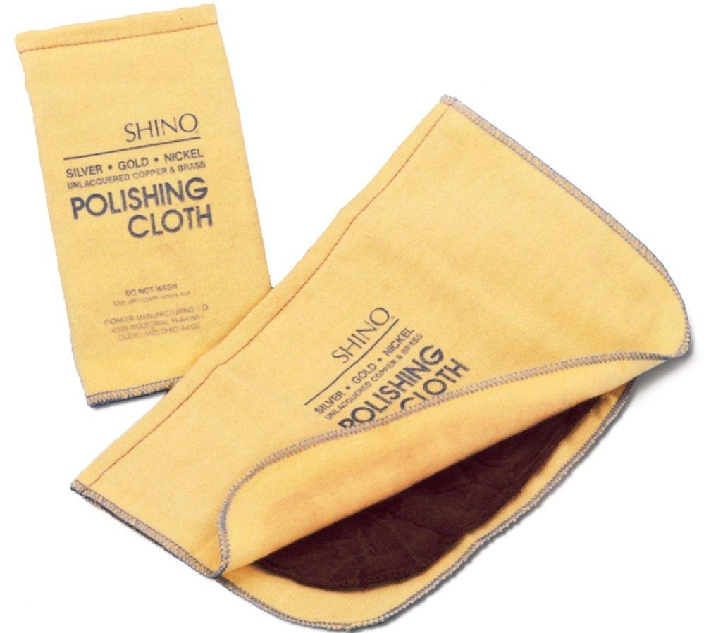 Shino Polishing Cloth 12 X 14 With Rouge by Grobet USA