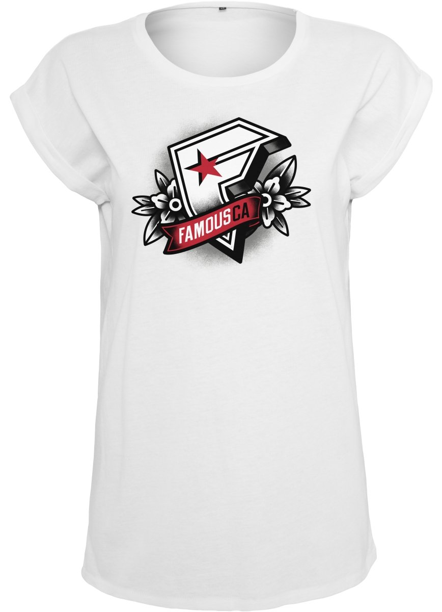 delikat Famous Stars and Straps Damen Ladies Famous Ca Tee T-Shirt
