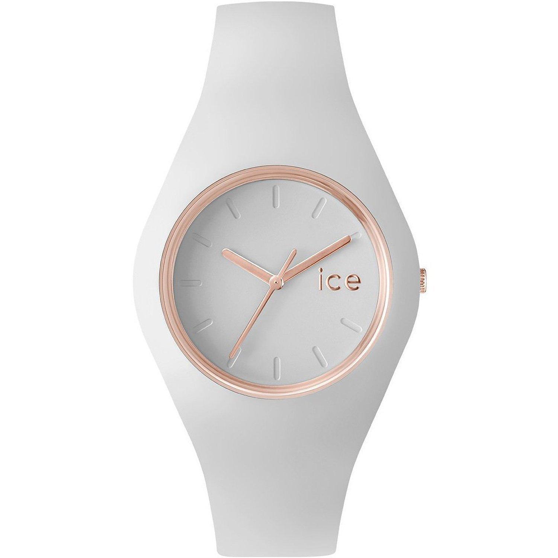 [アイスウォッチ]ICE WATCH 腕時計 ウォッチ ice glam 40mm ホワイト シリコンラバーベルト クオーツ 10気圧防水 メンズ レディース [並行輸入品] B01ALJ6XUU