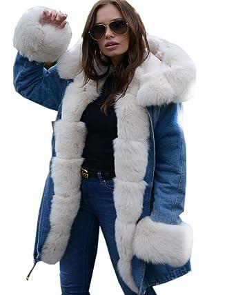 Winter Coats Women 2018 Hot Sell European American Fashion Hooded Sweatshirt Hair Coat Female Fleece-lined Sweatshirt Jacket Hoodies & Sweatshirts