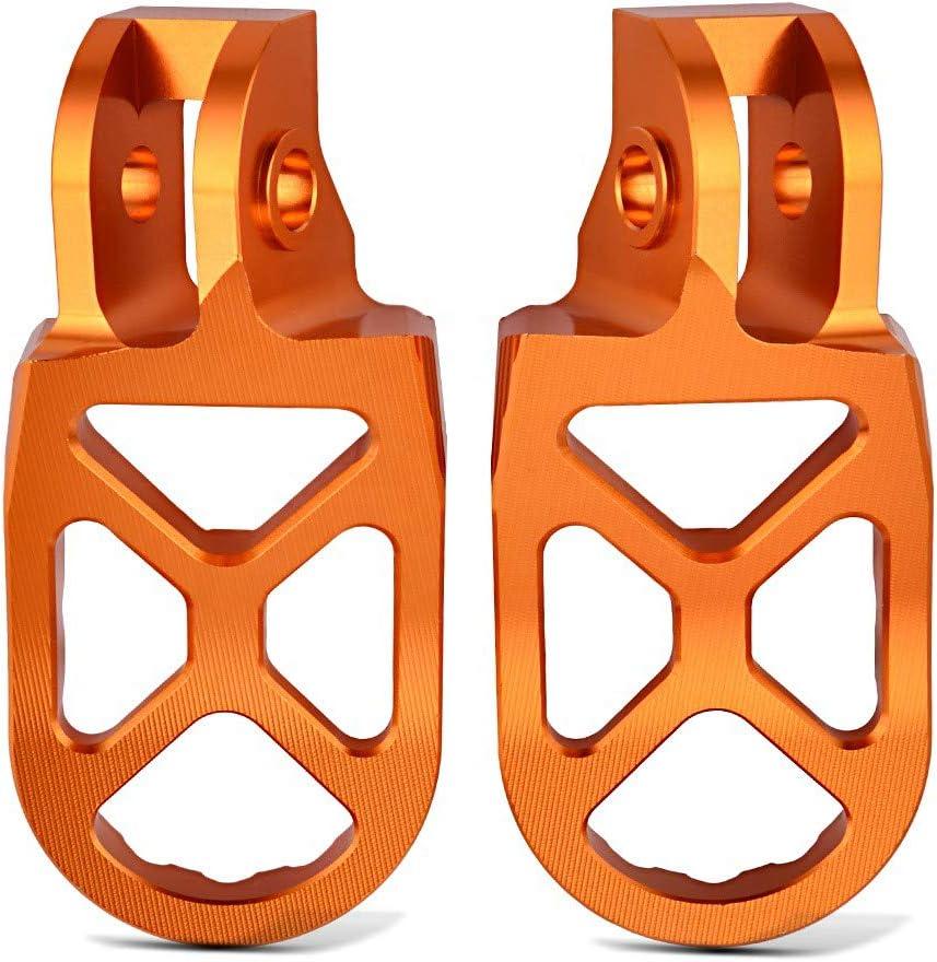 MX Fu/ßrasten f/ür KTM 390//125 Duke 17-20 FF4 orange