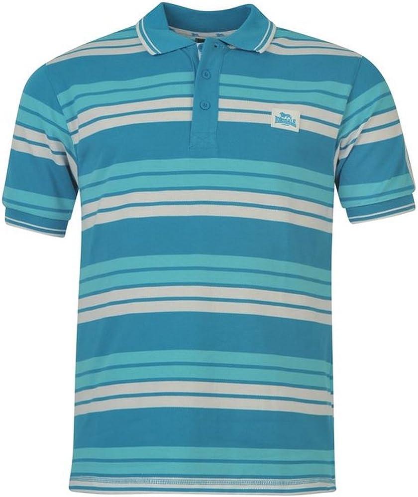 Lonsdale - Polo - para Hombre Bleu Clair/Blanc S: Amazon.es: Ropa ...