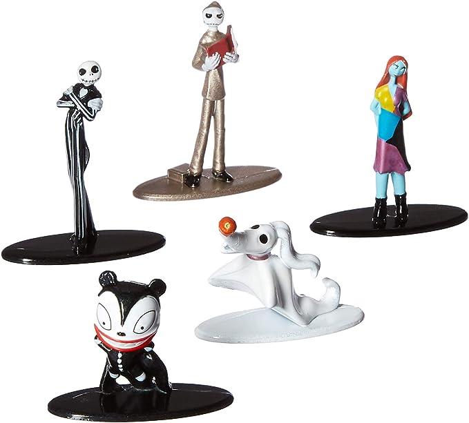 Jada Pack 5 Figuras Pesadilla Antes de Navidad, Multicolor (3067930048): Amazon.es: Juguetes y juegos