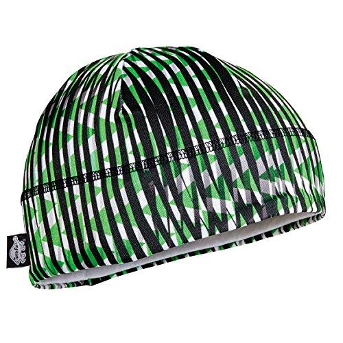 Helmet Shroud (Turtle Fur Kids Comfort Shell Brain Shroud Lightweight Snug Beanie Helmet Liner Field Of Greens)