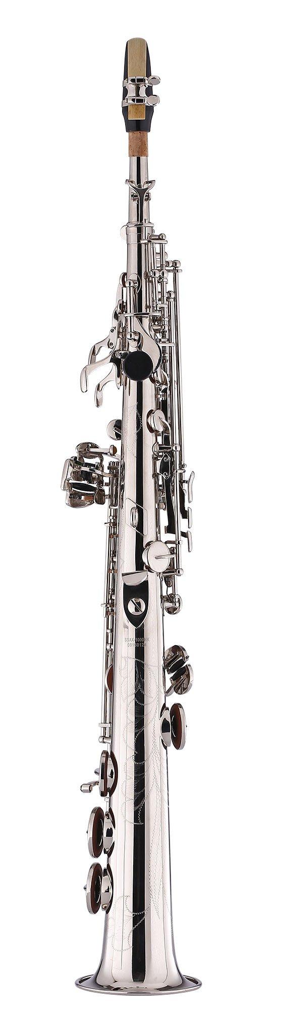 Kaizer Soprano Saxophone Straight B Flat Bb Nickel Silver SSAX-1000NK by Kaizer (Image #2)