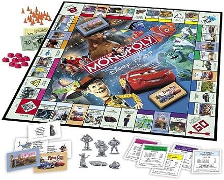 Monopoly Disney Pixar Edition: Amazon.es: Juguetes y juegos