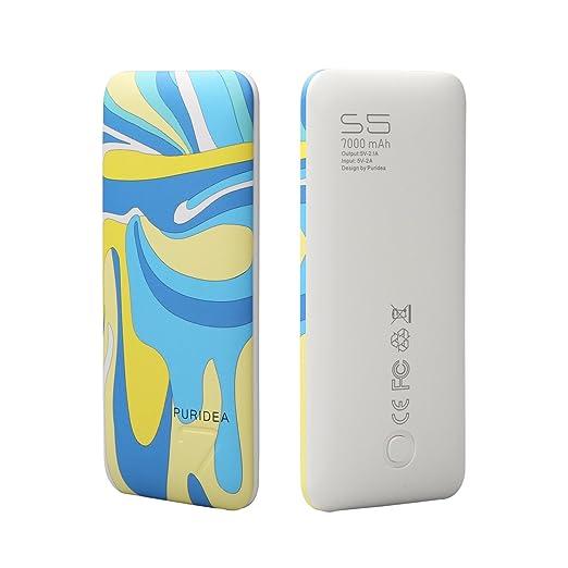 308 opinioni per PURIDEA S5 Ultra Compact 7000mAh Caricabatterie Portatile Power bank Doppia