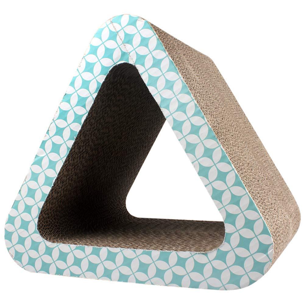 V Cat Toy Corrugated Paper cat Scratch Board House BallV 36x31x26.5cm(14x12x10)