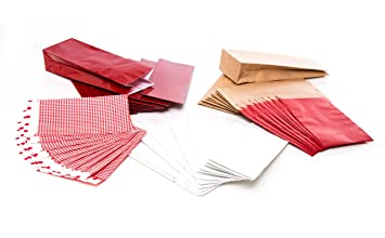 Logbuch-Verlag - Conjunto de bolsas para regalo (50 unidades ...