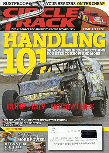 - Circle Track Advanced Racing Technology August 2012 Magazine HANDLING 101: SHOCKS & SPRINGS - EVERYTHING YOU NEED TO KNOW AND MORE Rustproof Your Headers On The Cheap
