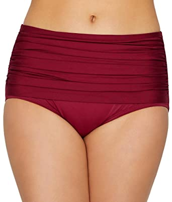 461a4bc054be0 Amazon.com: Miraclesuit Norma Jean Retro Bikini Bottom: Miraclesuit:  Clothing