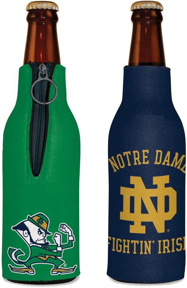 WinCraft NCAA Notre Dame Fighting Irish Bottle Cooler, Team Colors, One Size