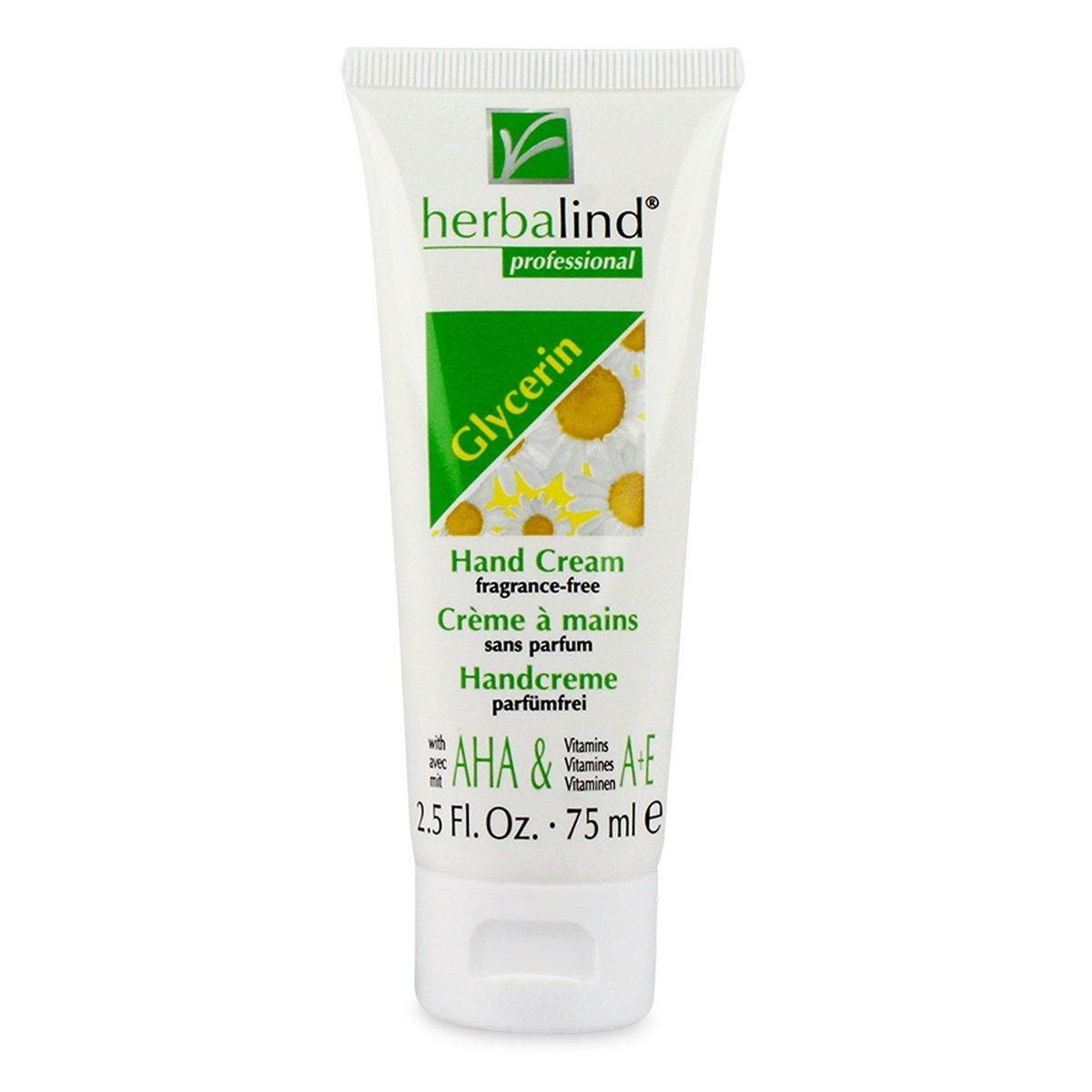 Herbalind Glycerin Hand Cream (Unscented) 75ml cream