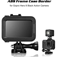 Mainstayae Frame Case Border Protective Cover ABS Housing Mount Base Replacement for GoPro Hero 8 Black Action Camera Protection Accessory