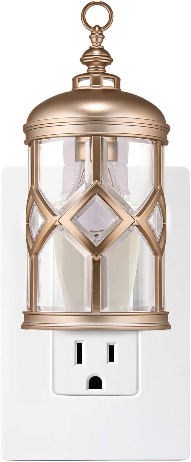 Bath and Body Works Round Lantern NIGHTLIGHT Wallflowers Fragrance Plug