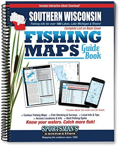 Southern Wisconsin Fishing Map Guide by Sportsman's Connection (2002-12-24)