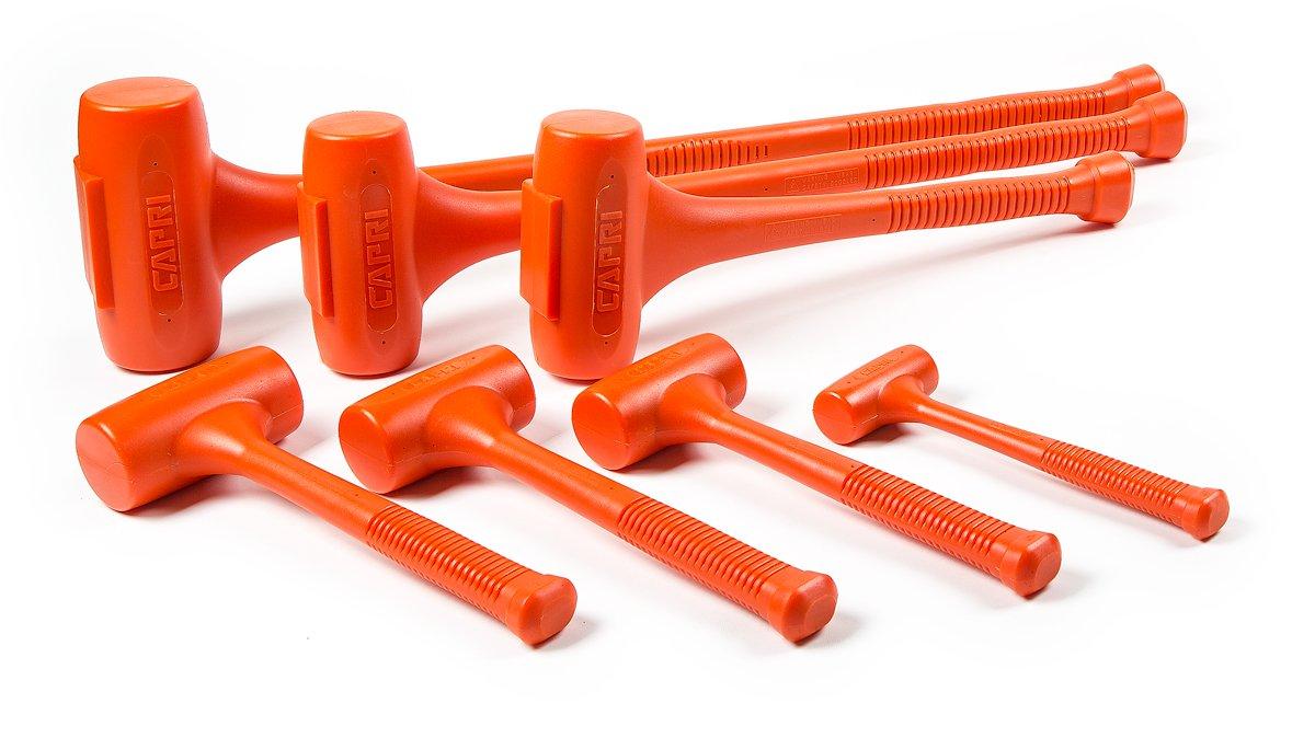 Capri Tools CP10100 C100 Dead Blow Hammer, 20'', Orange, 6 lbs. by Capri Tools (Image #2)